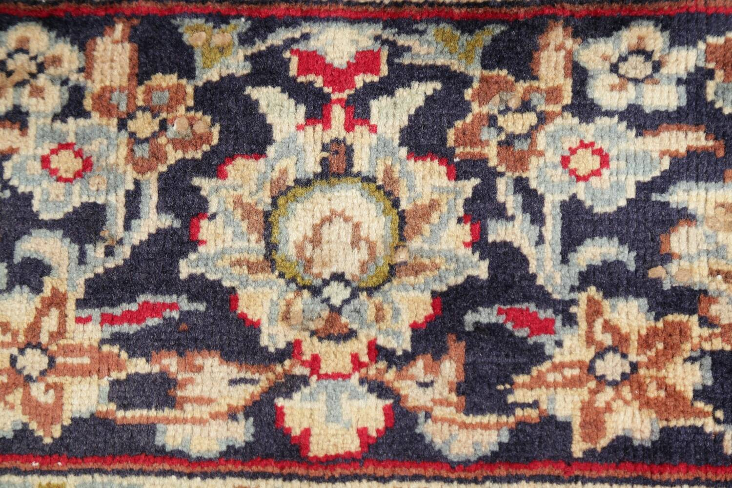 Vintage Floral Red Najafabad Persian Area Rug 8x12 image 9