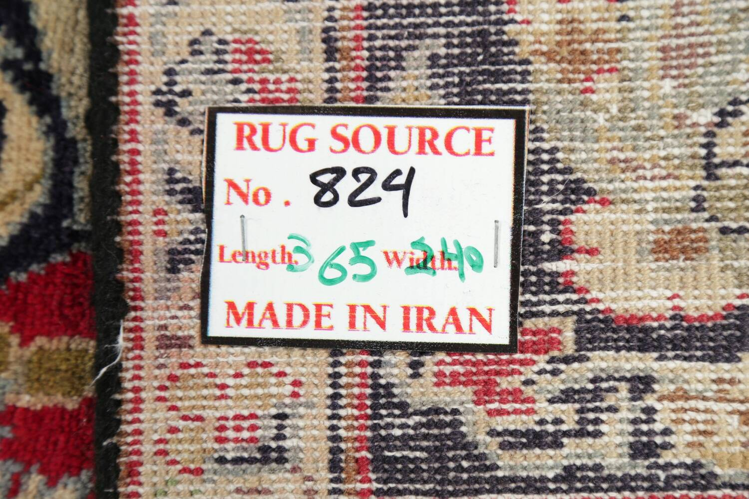 Vintage Floral Red Najafabad Persian Area Rug 8x12 image 24