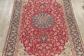 Vintage Floral Red Najafabad Persian Area Rug 8x12 image 3