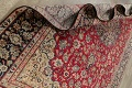 Vintage Floral Red Najafabad Persian Area Rug 8x12 image 20