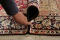 Vintage Floral Red Najafabad Persian Area Rug 8x12 image 21