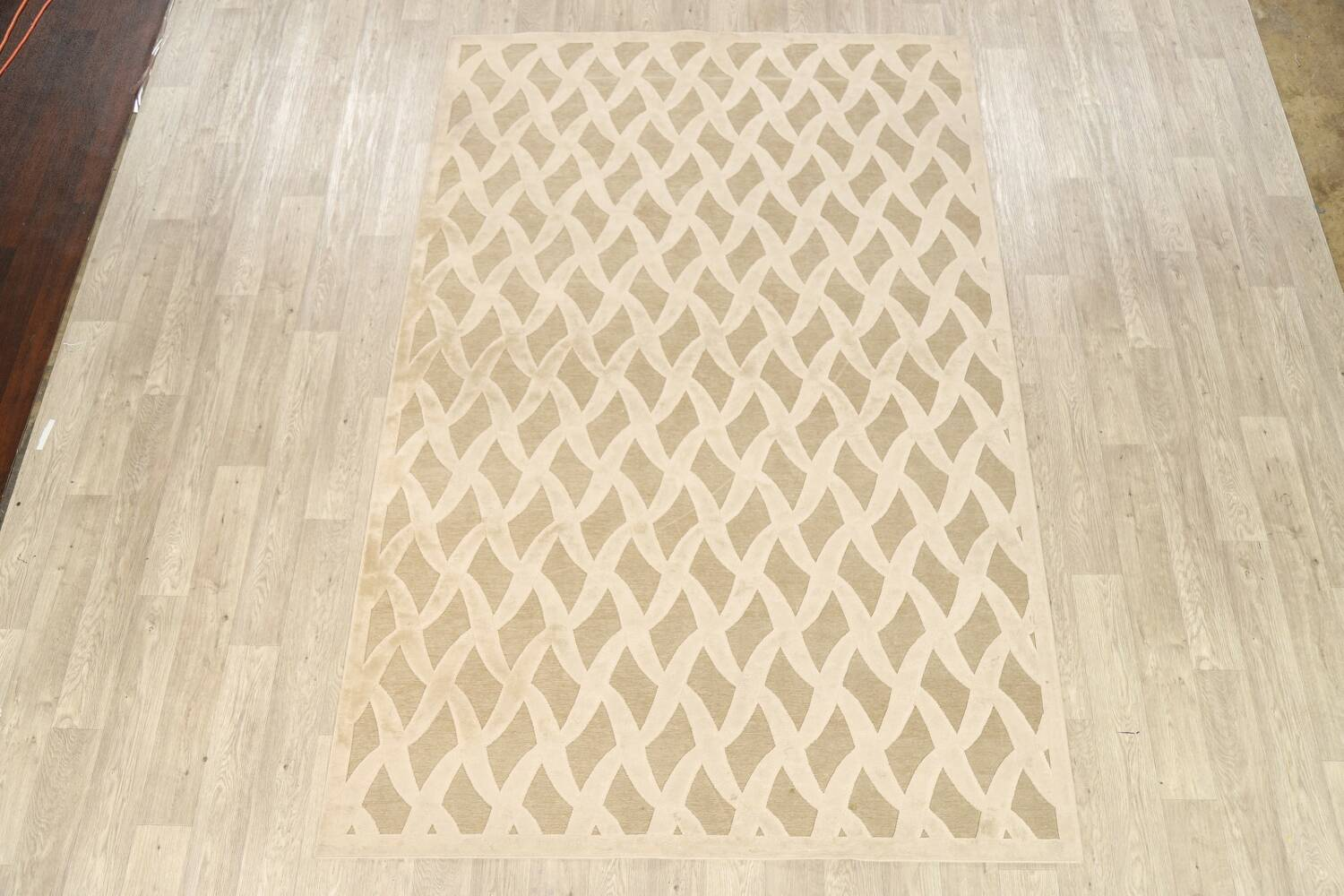 All-Over Waves Design Modern Oriental Area Rug 6x9 image 2