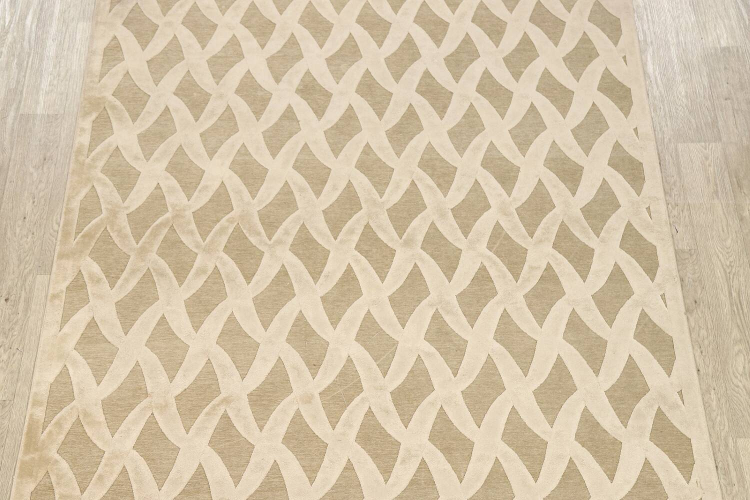 All-Over Waves Design Modern Oriental Area Rug 6x9 image 3