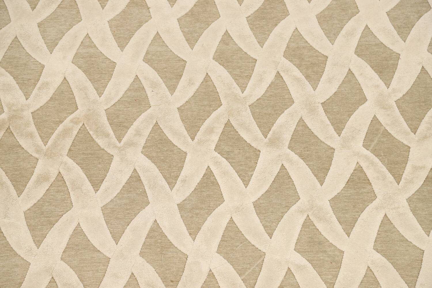 All-Over Waves Design Modern Oriental Area Rug 6x9 image 4