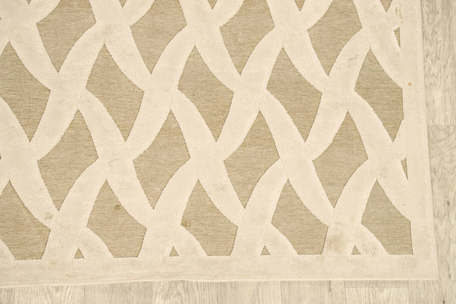 All-Over Waves Design Modern Oriental Area Rug 6x9 image 5