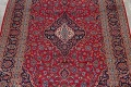 Traditional Floral Red Kashan Persian Area Rug 8x13 image 3