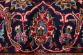Traditional Floral Red Kashan Persian Area Rug 8x13 image 9