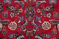 Traditional Floral Red Kashan Persian Area Rug 8x13 image 10