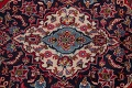 Traditional Floral Red Kashan Persian Area Rug 8x13 image 12