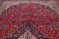 Traditional Floral Red Kashan Persian Area Rug 8x13 image 13