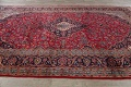 Traditional Floral Red Kashan Persian Area Rug 8x13 image 15