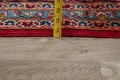 Traditional Floral Red Kashan Persian Area Rug 8x13 image 20