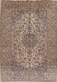 Vintage Floral Najafabad Persian Area Rug 10x14