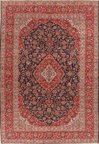 Floral Kashan Persian Area Rug 10x15