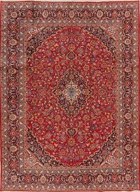 Red Floral Kashmar Persian Area Rug 8x11