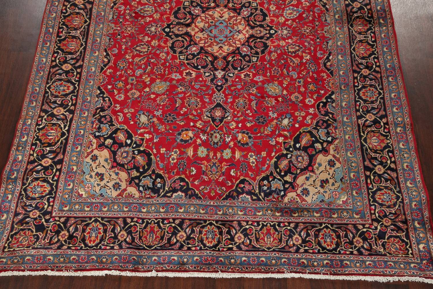 Floral Kashmar Red Persian Area Rug 8x11 image 8
