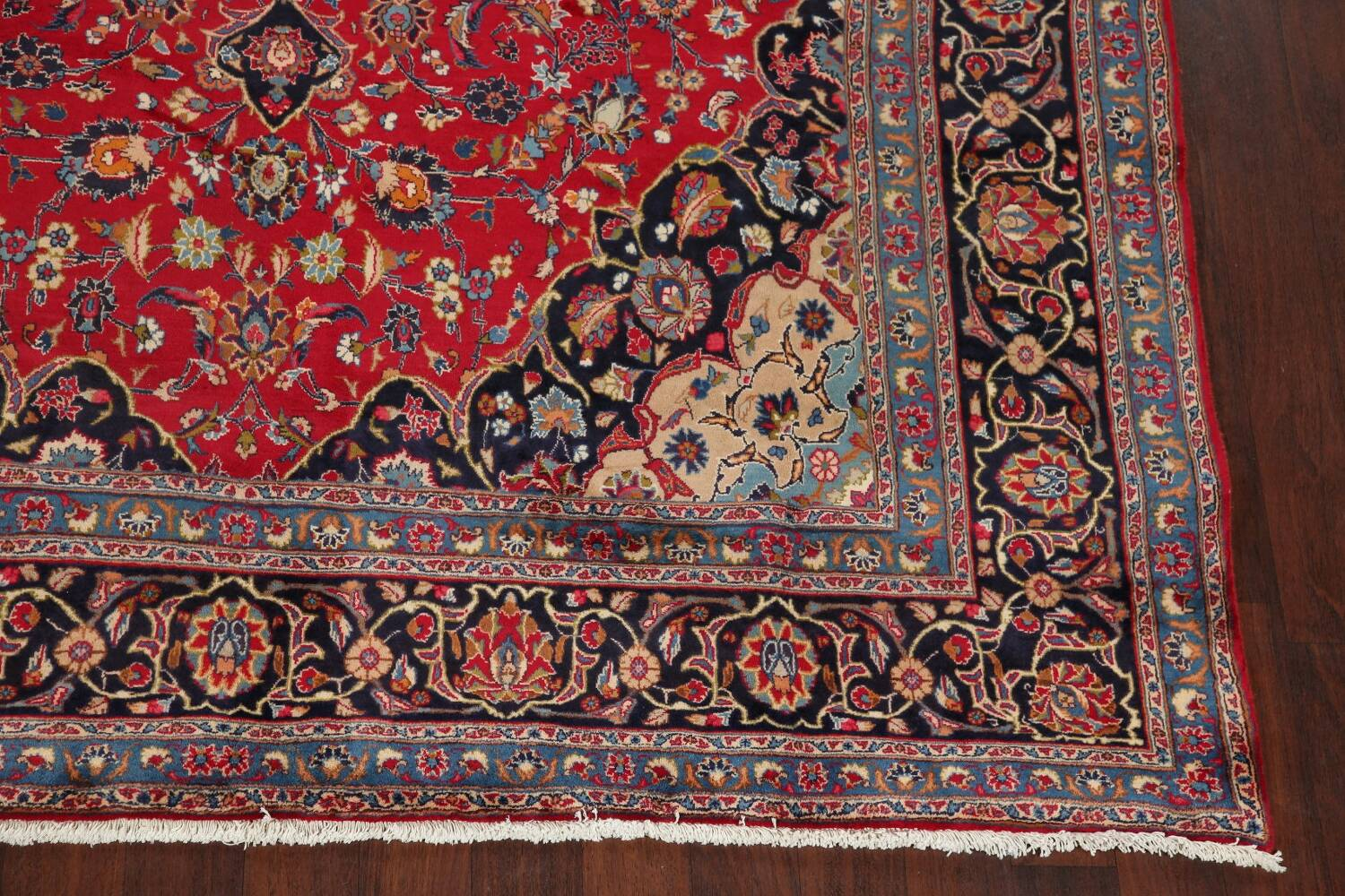 Floral Kashmar Red Persian Area Rug 8x11 image 5