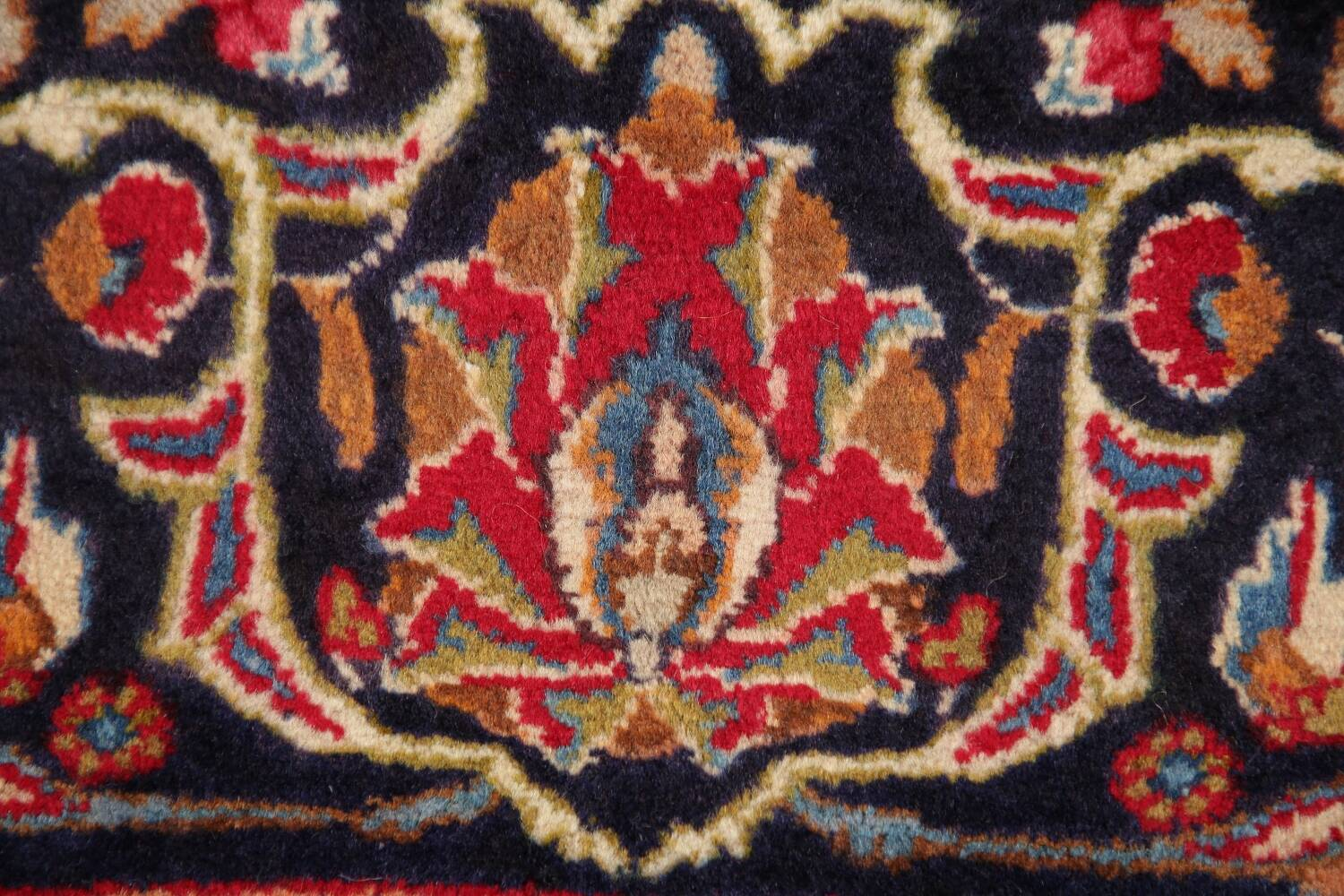 Floral Kashmar Red Persian Area Rug 8x11 image 9