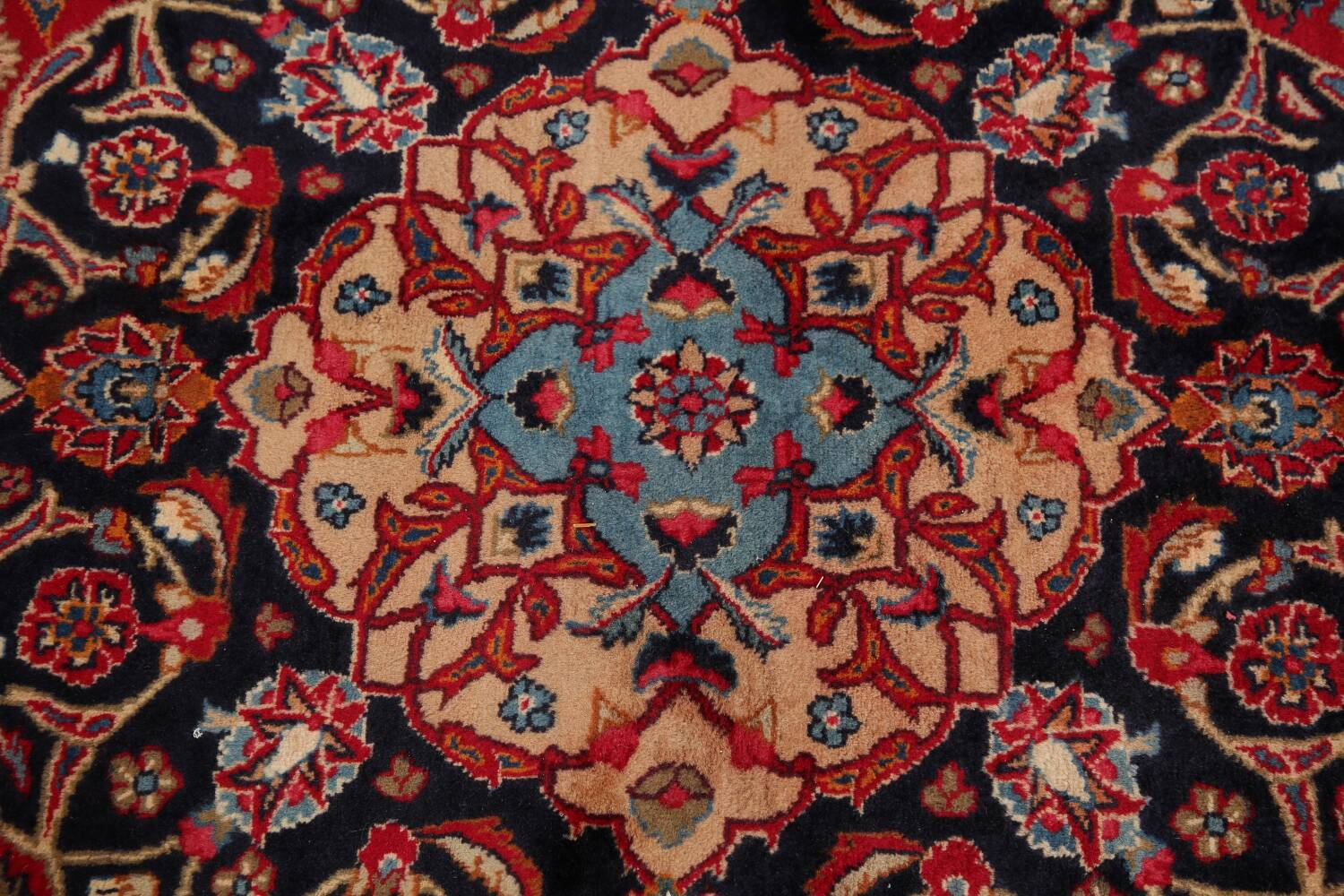 Floral Kashmar Red Persian Area Rug 8x11 image 12