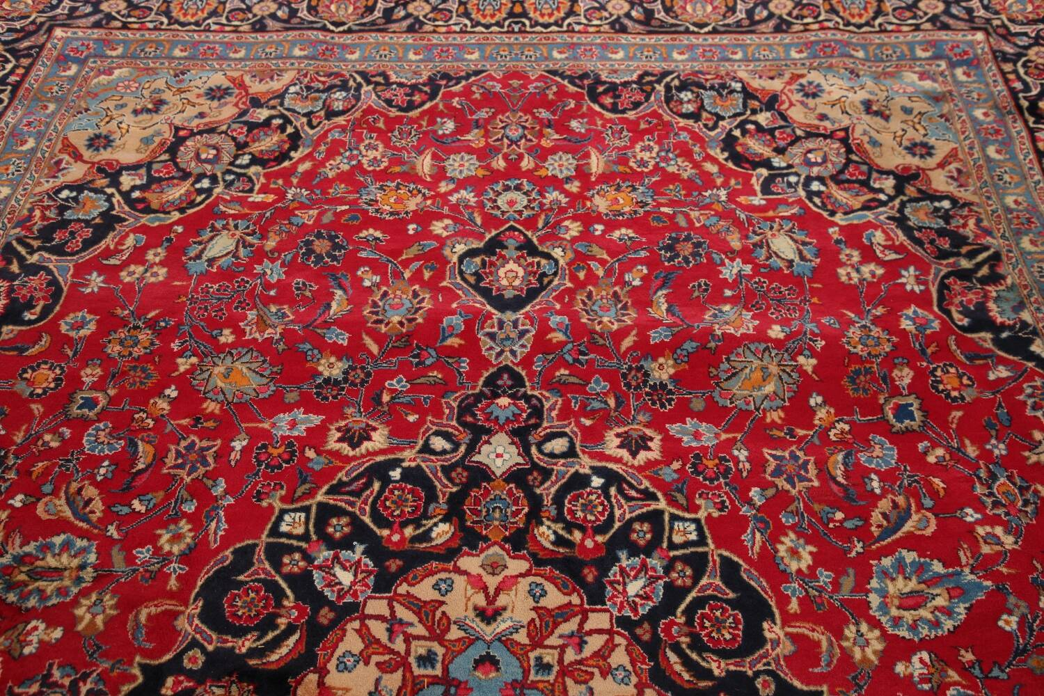 Floral Kashmar Red Persian Area Rug 8x11 image 13