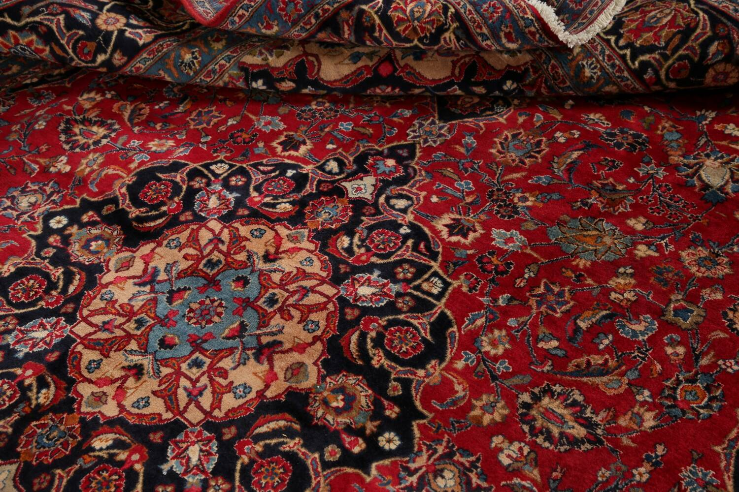 Floral Kashmar Red Persian Area Rug 8x11 image 17