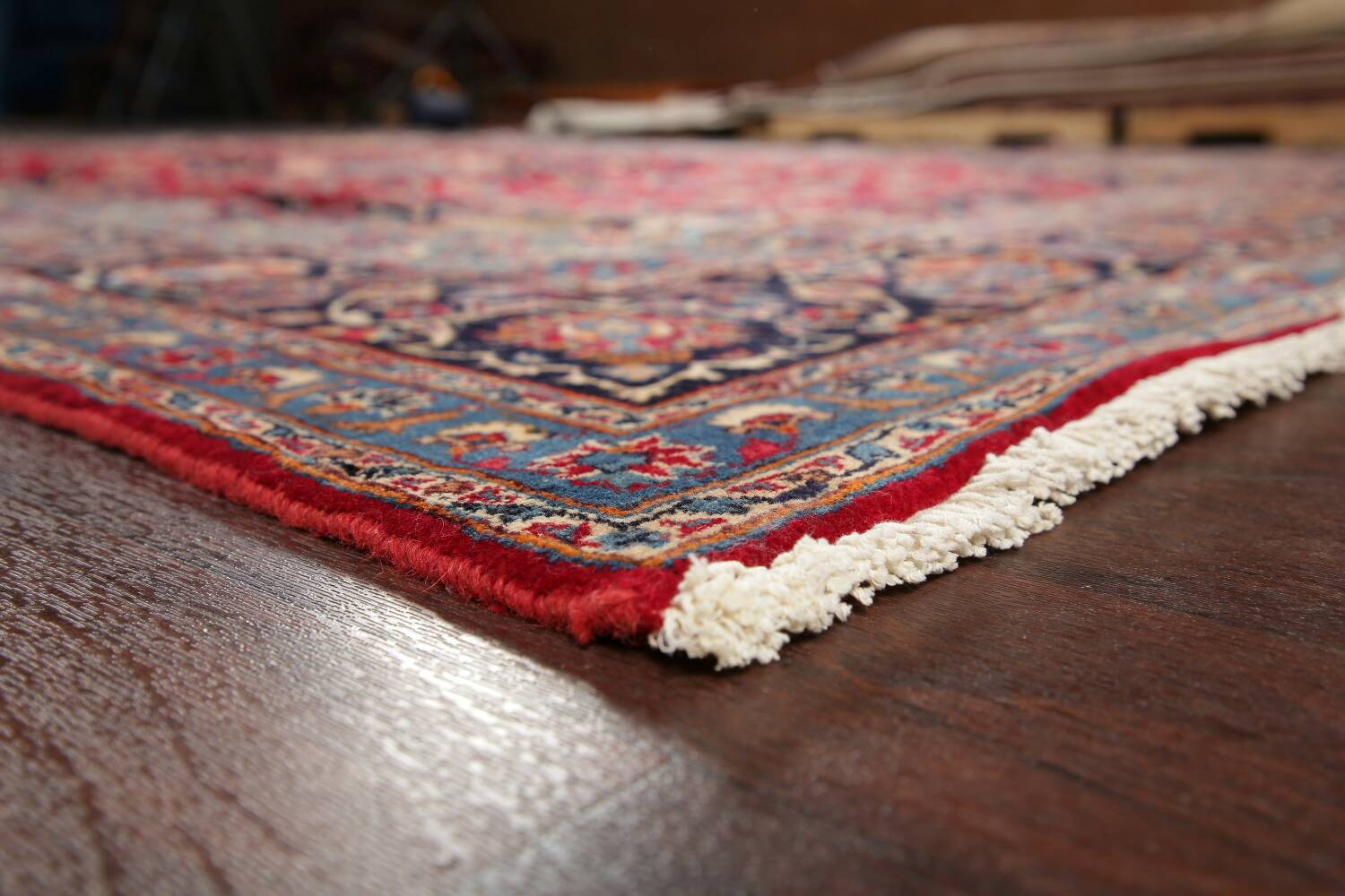 Floral Kashmar Red Persian Area Rug 8x11 image 6