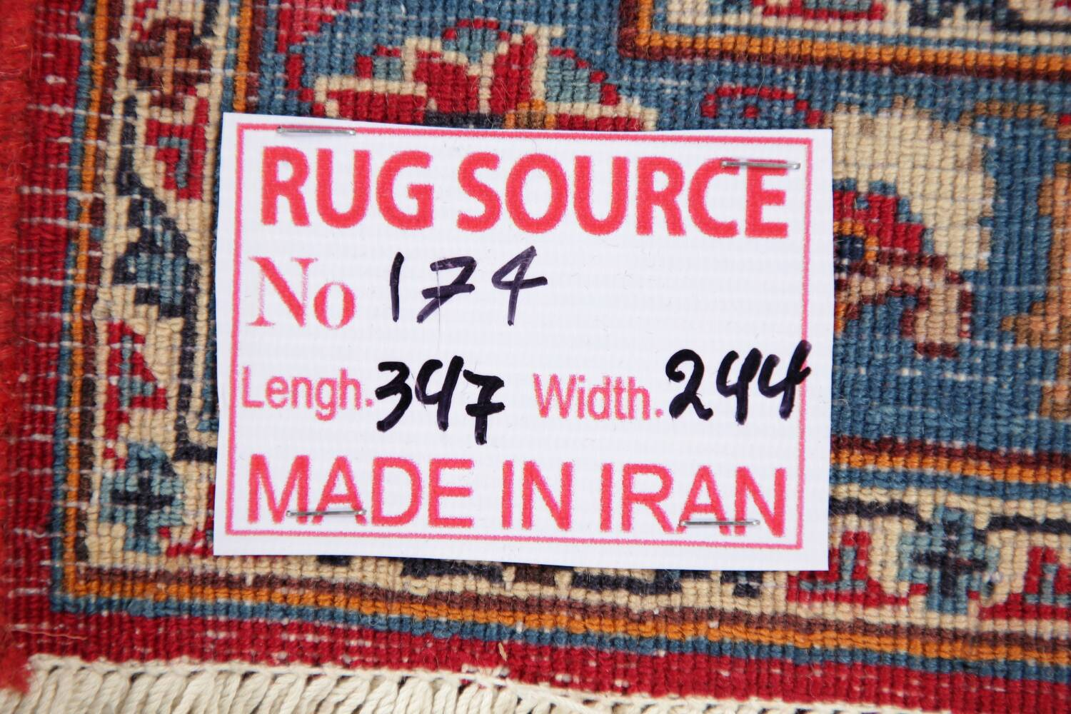 Floral Kashmar Red Persian Area Rug 8x11 image 22