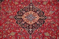 Floral Kashmar Red Persian Area Rug 8x11 image 4