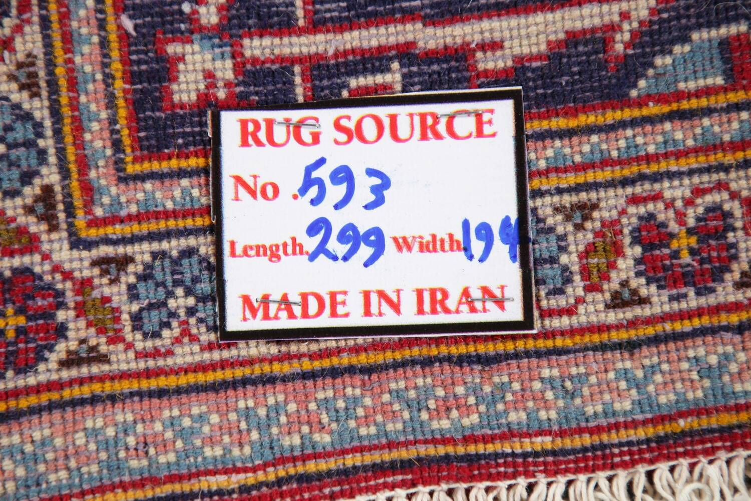 Traditional Floral Red Kashan Persian Area Rug 6x10 image 22