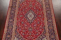 Traditional Floral Red Kashan Persian Area Rug 6x10 image 3