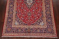 Traditional Floral Red Kashan Persian Area Rug 6x10 image 8