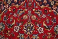 Traditional Floral Red Kashan Persian Area Rug 6x10 image 10