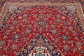 Traditional Floral Red Kashan Persian Area Rug 6x10 image 13