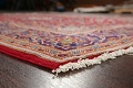 Traditional Floral Red Kashan Persian Area Rug 6x10 image 6