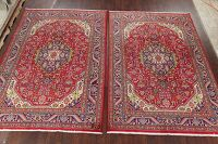 Set of 2 Geometric Tabriz Persian Area Rugs 7x10