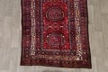 Vintage Geometric Red Malayer Persian Runner Rug 4x9 image 8