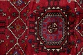 Vintage Geometric Red Malayer Persian Runner Rug 4x9 image 11