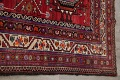 Vintage Geometric Red Malayer Persian Runner Rug 4x9 image 14