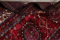 Vintage Geometric Red Malayer Persian Runner Rug 4x9 image 18