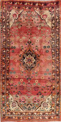 Muted Floral Lilian Persian Area Rug 5x11