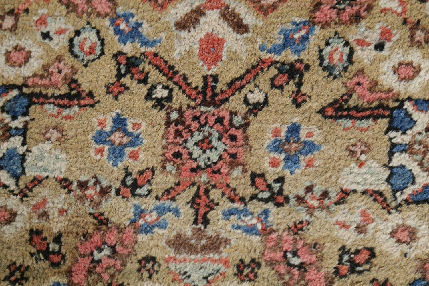Antique Pre-1900 Sultanabad Persian Rug 13x22 Large image 10