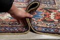 Antique Pre-1900 Sultanabad Persian Rug 13x22 Large image 21