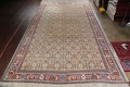 Antique Pre-1900 Sultanabad Persian Rug 13x22 Large image 2