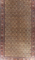 Antique Pre-1900 Sultanabad Persian Rug 13x22 Large image 1