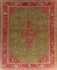 Antique Pre-1900 Oushak Turkish Area Rug 13x16 Large