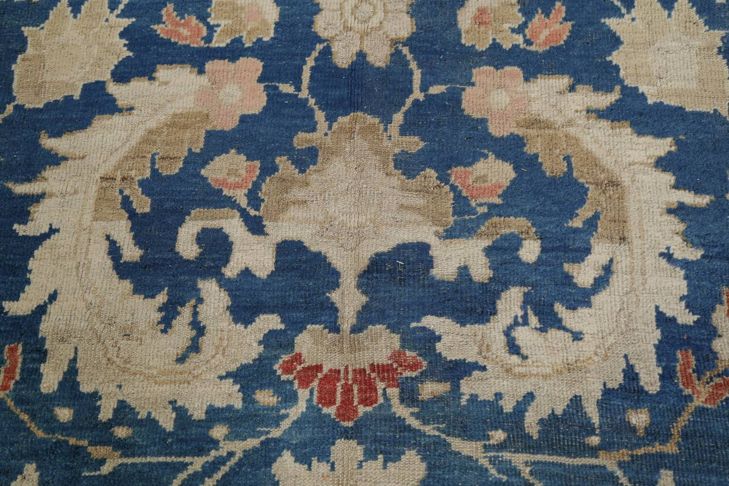 Antique Floral Sultanabad Persian Area Rug 10x16 Large image 11