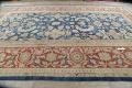 Antique Floral Sultanabad Persian Area Rug 10x16 Large image 14