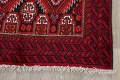 Geometric Red Balouch Persian Area Rug 3x6 image 5