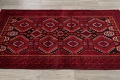 Geometric Red Balouch Persian Area Rug 3x6 image 15