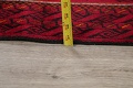 Geometric Red Balouch Persian Area Rug 3x6 image 20